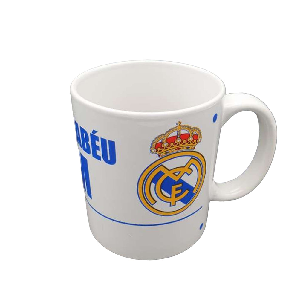 Real Madrid C.F White Street Sign Mug