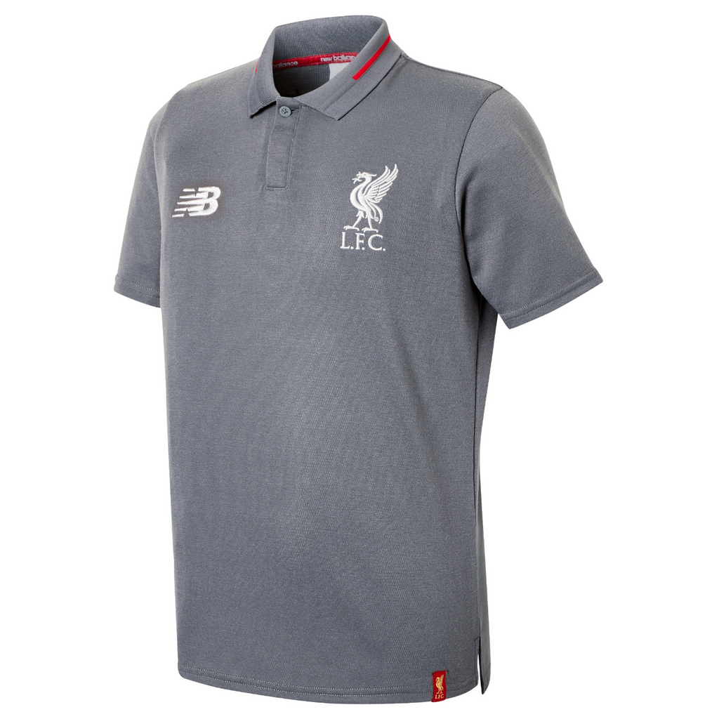 Liverpool FC Junior Leisure Elite Polo T-Shirt 2018-19