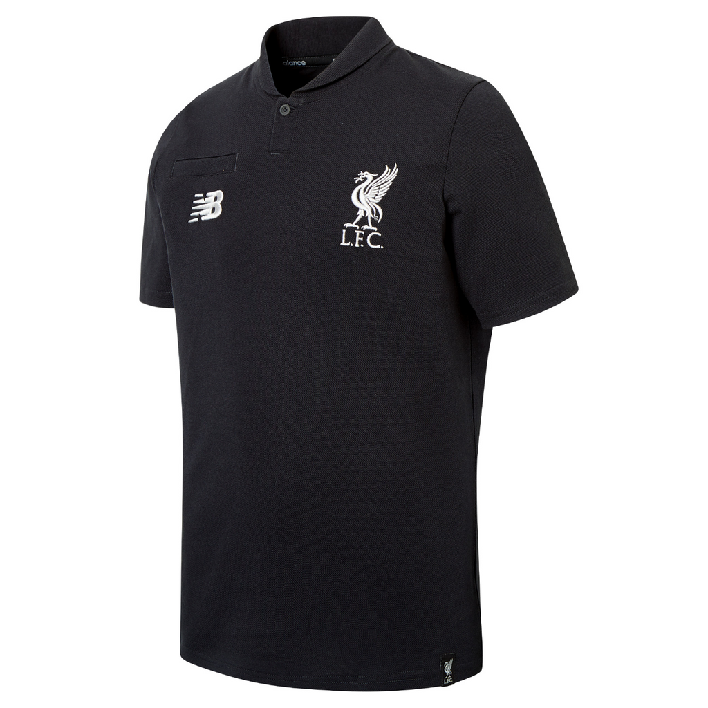 Liverpool FC Junior Leisure Classic Polo T-Shirt 2018-19