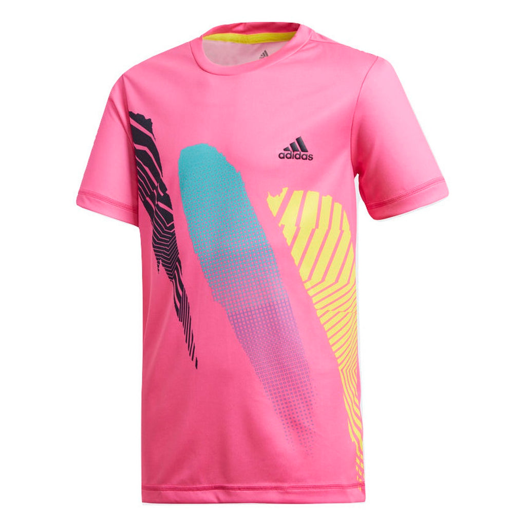 Adidas Boys Seasonal Tennis T-Shirt