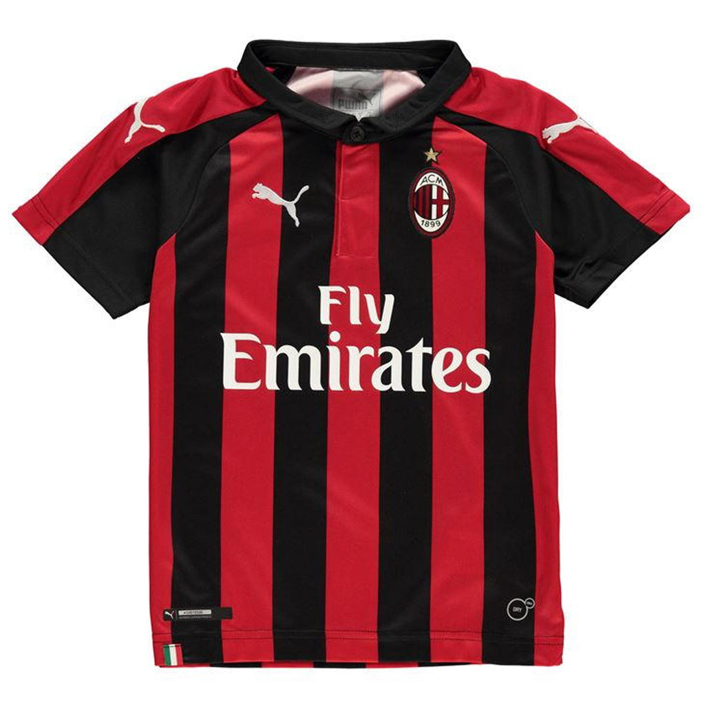 AC Milan Junior Home Replica T-Shirt 2018-19