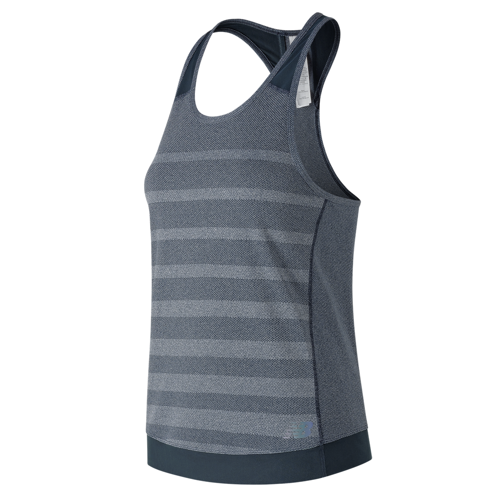 New Balance Womens Q Speed Jacquard Running Tank Top