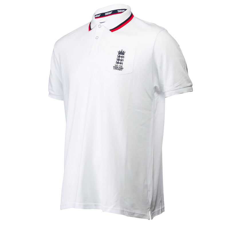 England Cricket ECB Mens 2 Tone Official Polo