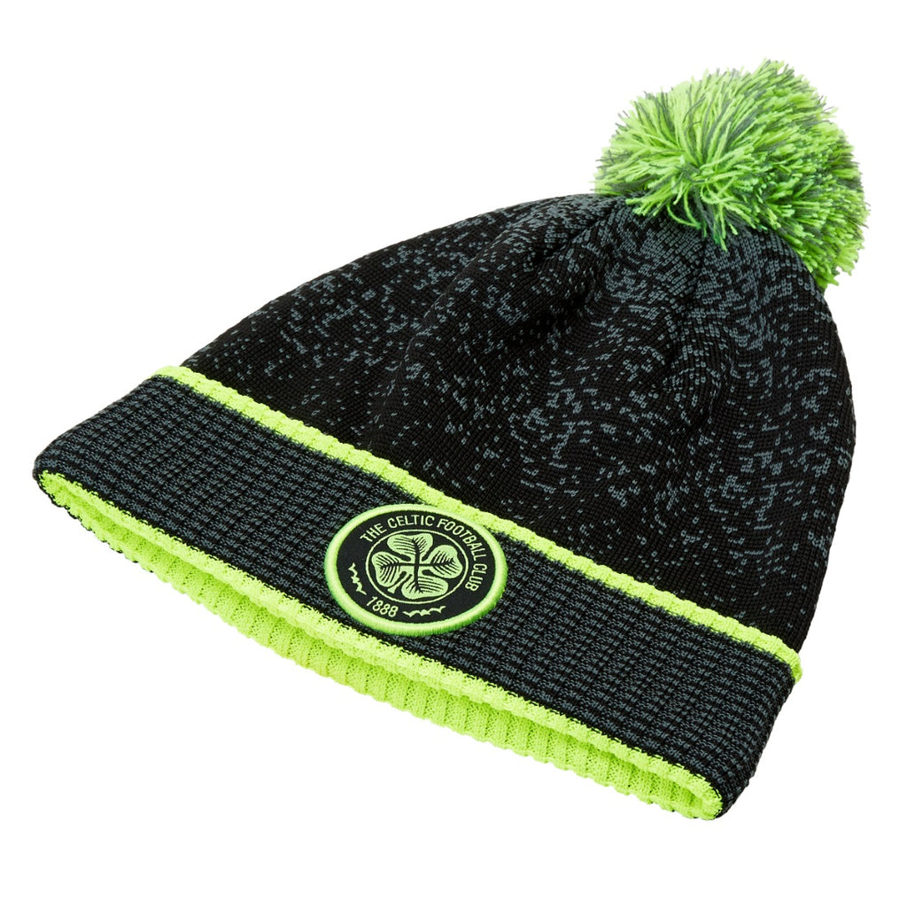 Celtic FC Official Supports Fleece Beanie Bobble Hat