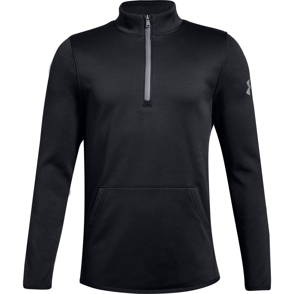 Under Armour Boys Half Zip Running Sweatshirt