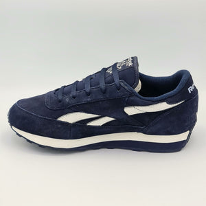 Reebok Mens Classic Renaissance Nubuck Retro Trainers - Blue - UK 8