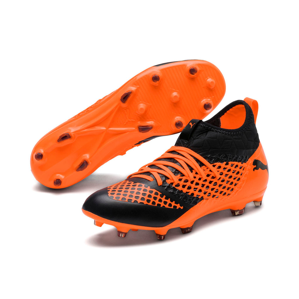 Puma Junior Future 2.3 Netfit Firm Ground Football Boots