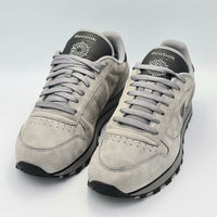 Reebok Mens Classic Leather Shield Flow Retro Trainers - Grey - UK 8