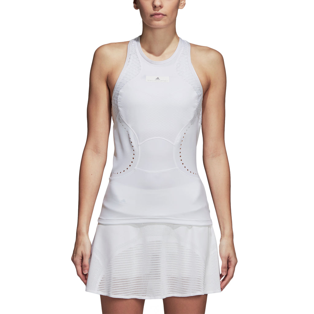 adidas Womens Stella McCartney Q3 Tennis Tank Top