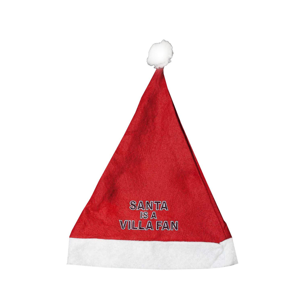 Aston Villa Santa is a Villa Fan Novelty Christmas Hat