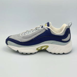 Reebok Womens Daytona DMX Running Shoes - Grey/Navy - UK 4.5