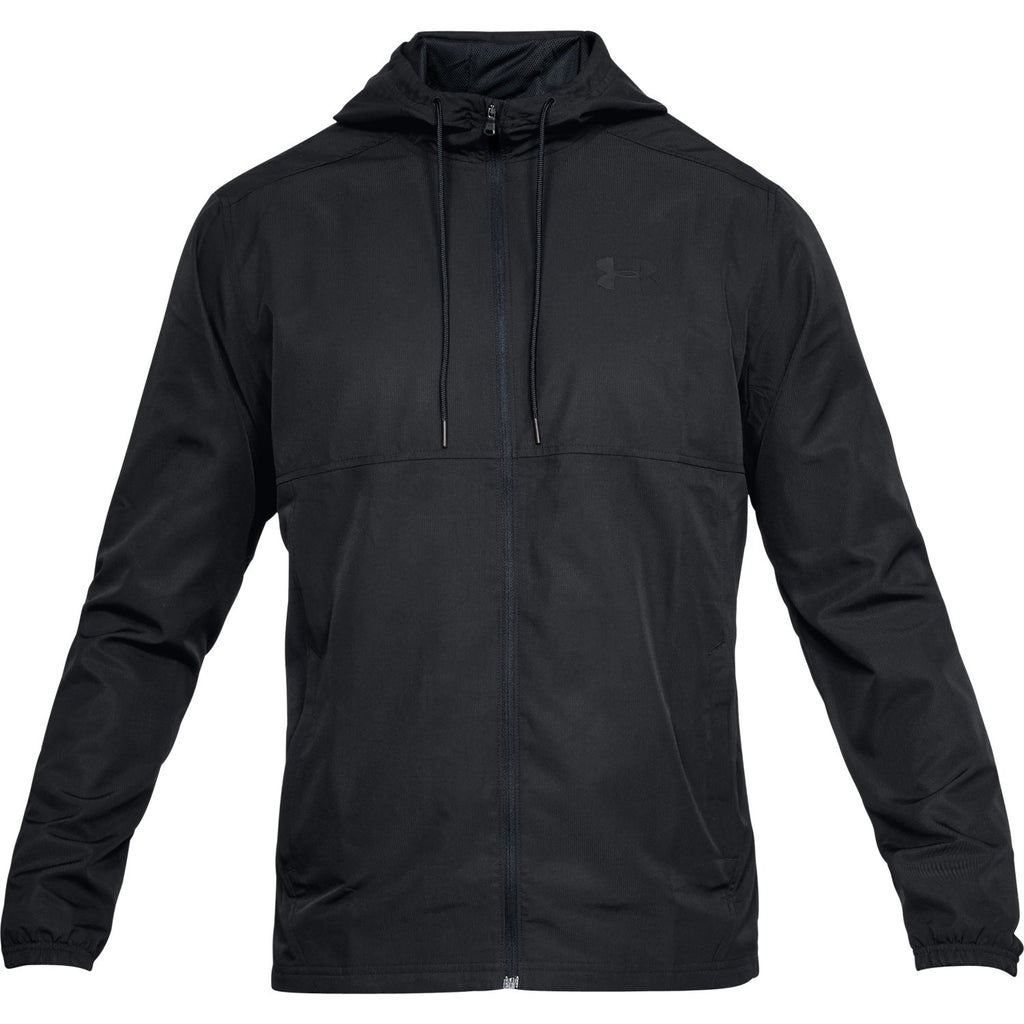 Under Armour Mens Sportstyle Woven Full Zip Training Hoodie