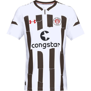 St Pauli Junior Away Short Sleeve Replica T-Shirt 2018-19