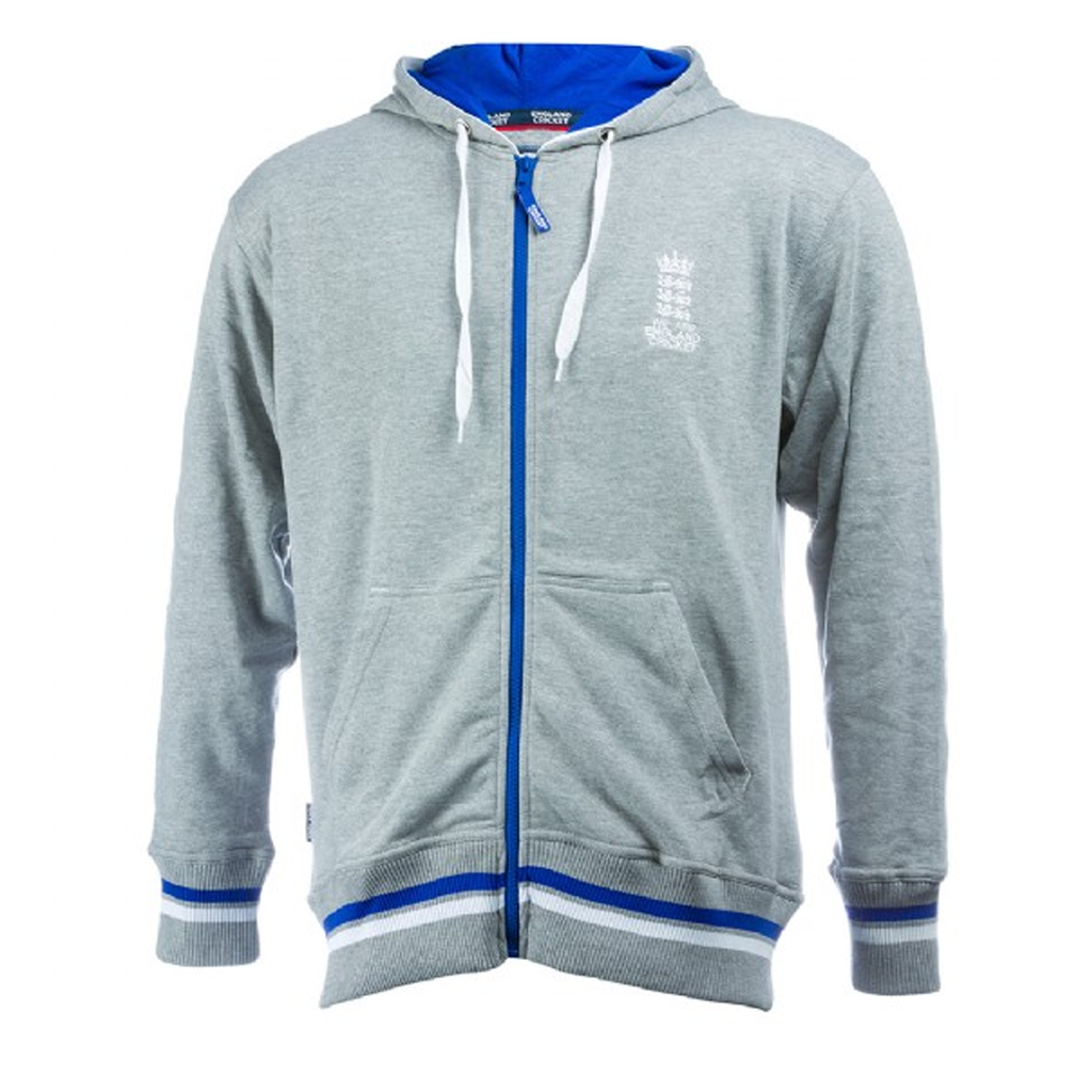 England Cricket ECB Mens Full Zip Hoodie