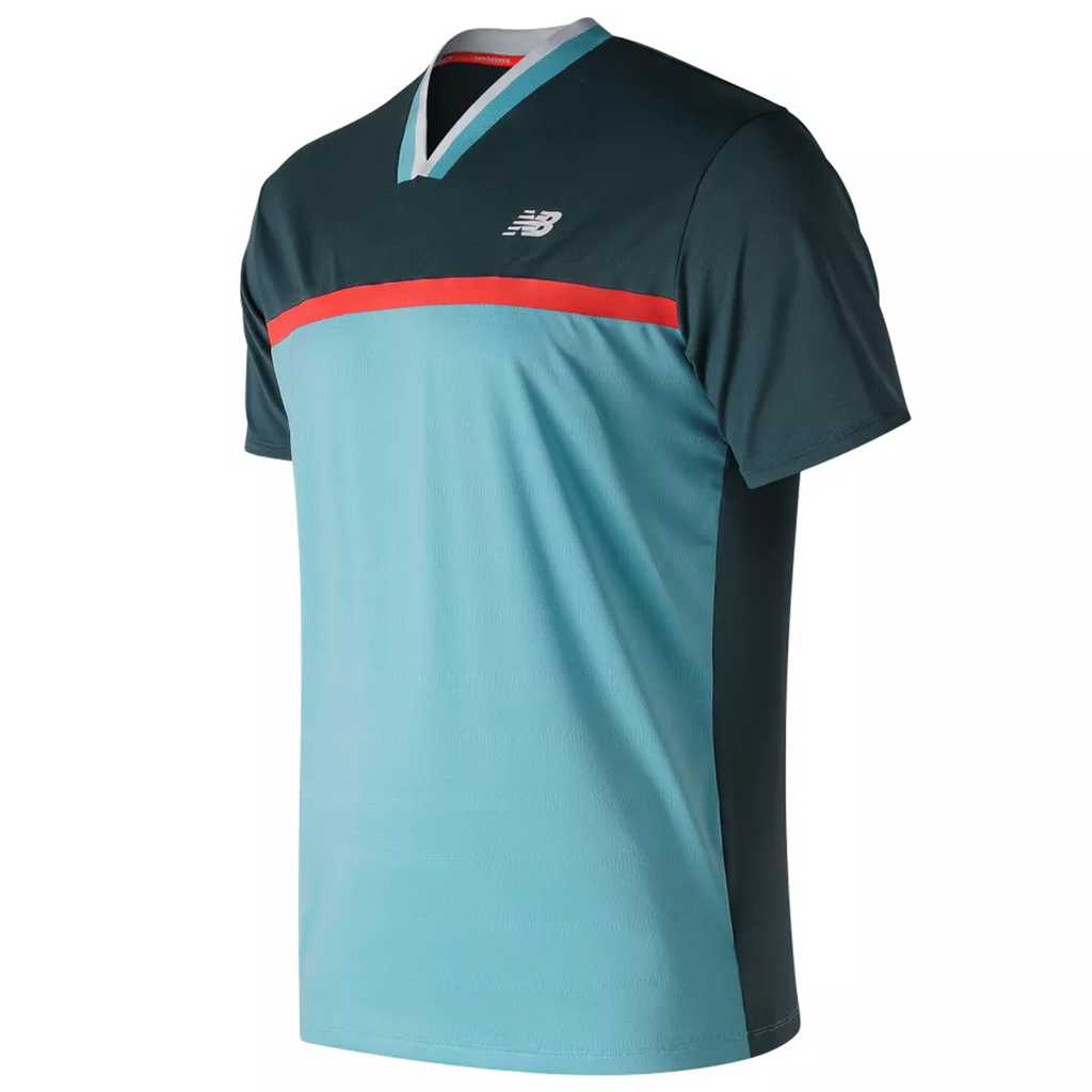 New Balance Mens Tournament Athletic Fit Tennis Top