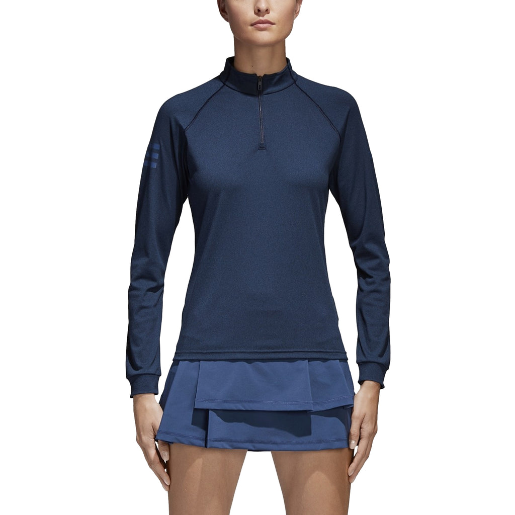 adidas Womens 1/4 Zip Tennis Club Midlayer