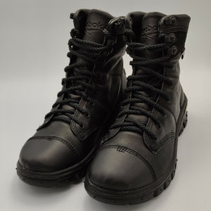 Reebok Womens Leather Black Army Boots - Black - UK 4.5