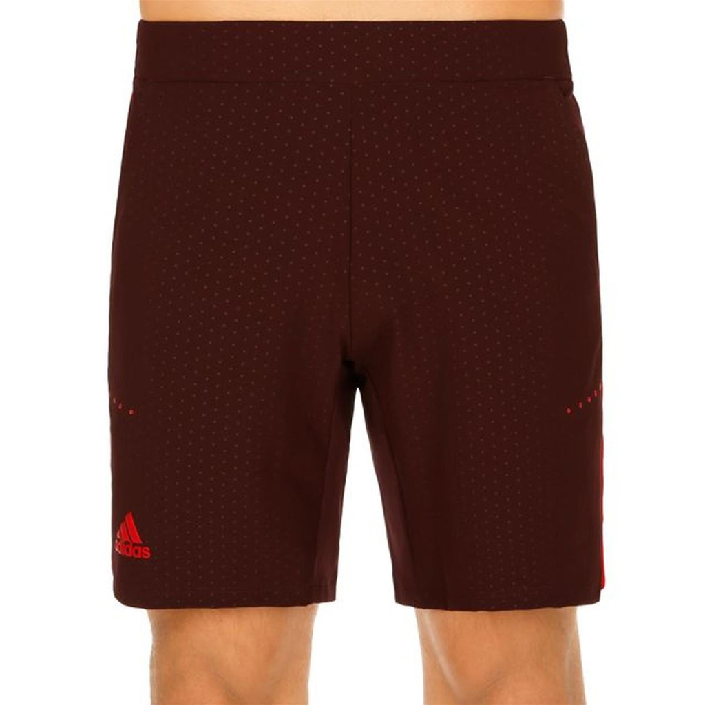 Adidas Mens Barricade Woven 8.5-Inch Tennis Shorts