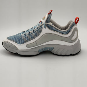 Reebok Womens Daytona DMX Internal Retro Trainers - Grey/Blue - UK 4.5