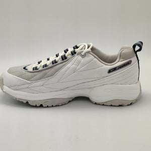 Reebok Womens Monaco DMX Cushioned Retro Trainers - White - UK 4.5