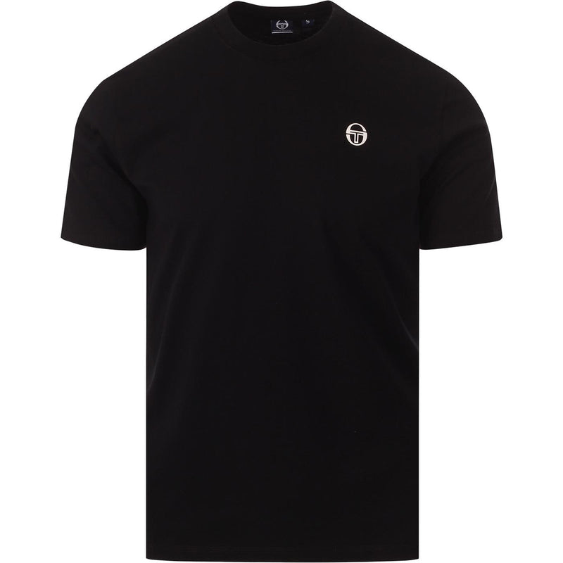 Sergio Tacchini Mens Run Short Sleeve Cotton T-Shirt