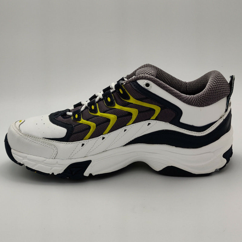 Reebok Womens Dare DMX I Cushined Training Shoes - White/Blue - UK 4.5