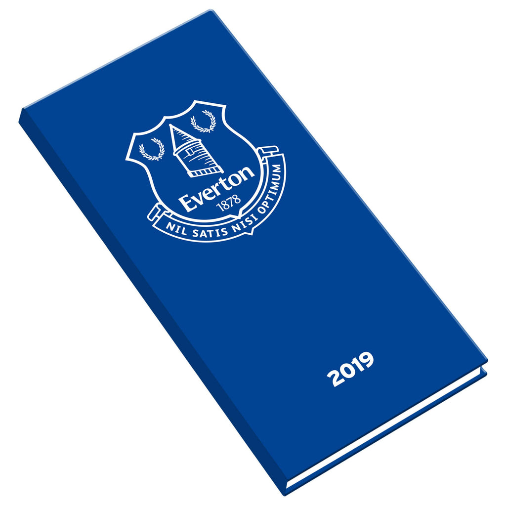 The Official Everton 2019 Slim Pocket Diary