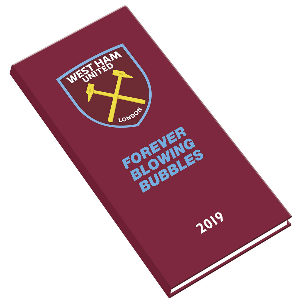 The Official West Ham United 2019 Slim Pocket Diary