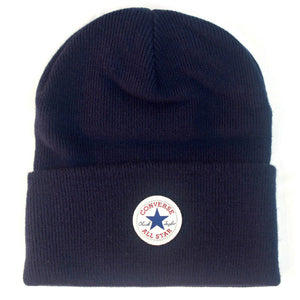 Converse Unisex Chuck Taylor Tall Cuff Knitted Beanie Hat