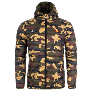 Ellesse Mens Lombardy Quilted Padded Jacket