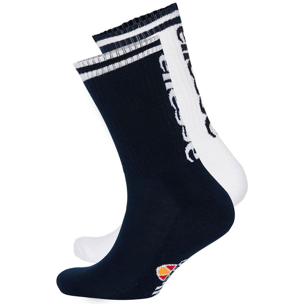 Ellesse Mens Tomi Crew Socks - Pack of Two