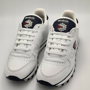 Reebok Womens Classic Leather Shield Flow Retro Trainers - White - UK 4.5