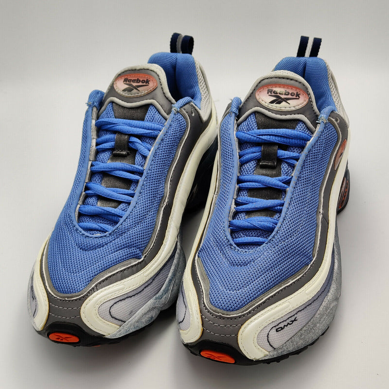 Reebok Womens Daytona DMX I Cushioned Retro Trainers - Blue - UK 4.5