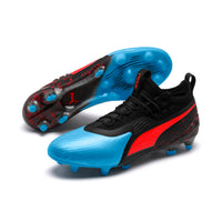 Puma Mens Puma ONE 19.1 Firm Ground/Artificial Grass Lightweight Football Boots