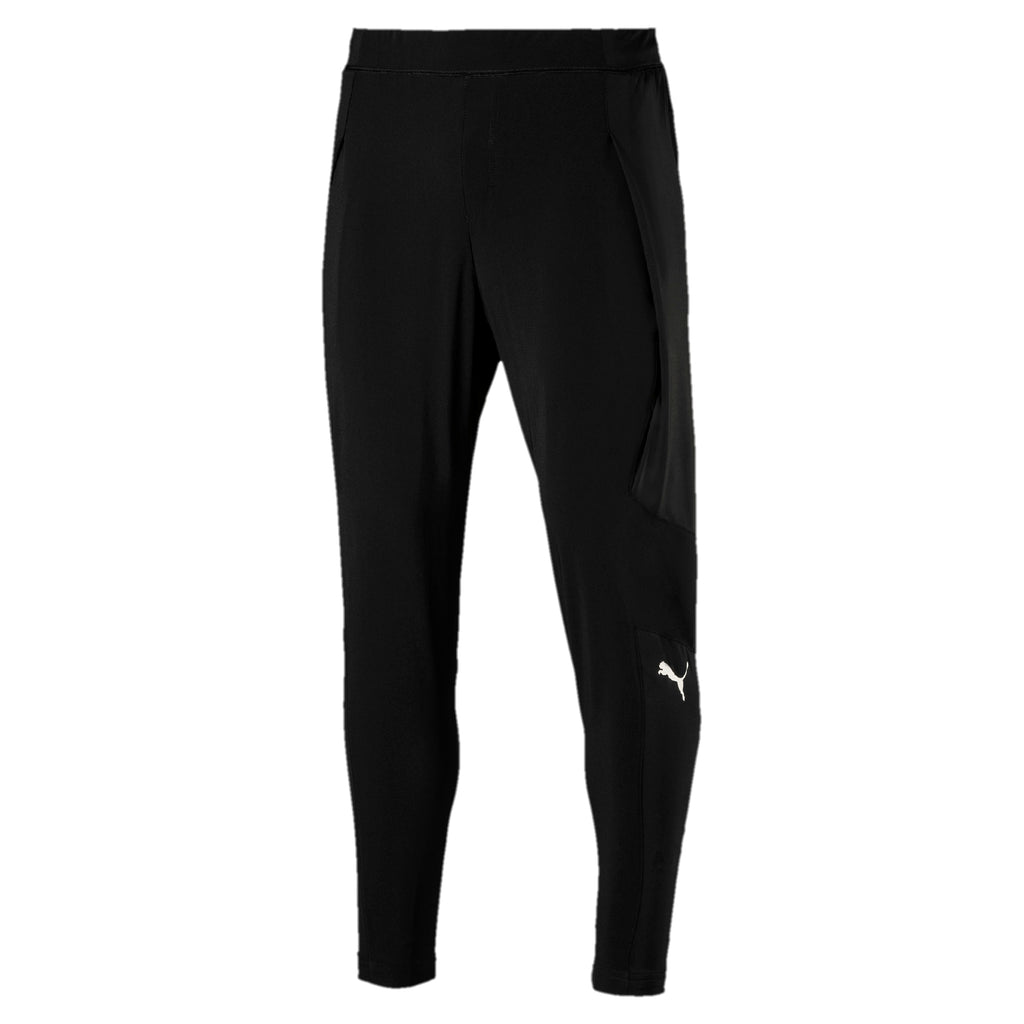 Puma Mens Never Run Back Tapered Lightweight Training Pants