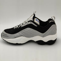 Reebok Womens Mistrad DMX II Retro Trainers - Black/Grey - UK 3.5