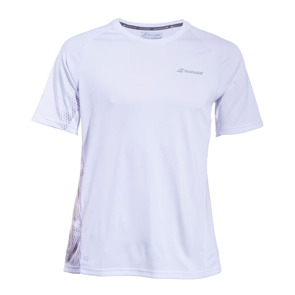 0b6f8958549e Babolat Mens Performance Crew Neck Short Sleeve Tennis T-Shirt