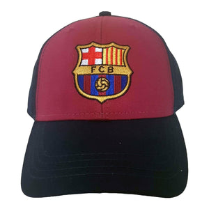 F.C. Barcelona Unisex Official 6 Panels Super Core Cap