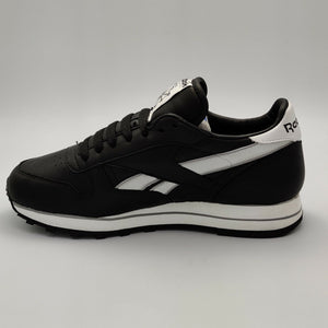 Reebok Womens Classic Leather Flow Retro Trainers - Black - UK 4.5