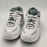 Reebok Womens Cushioned Leather Trainers - White - 4.5