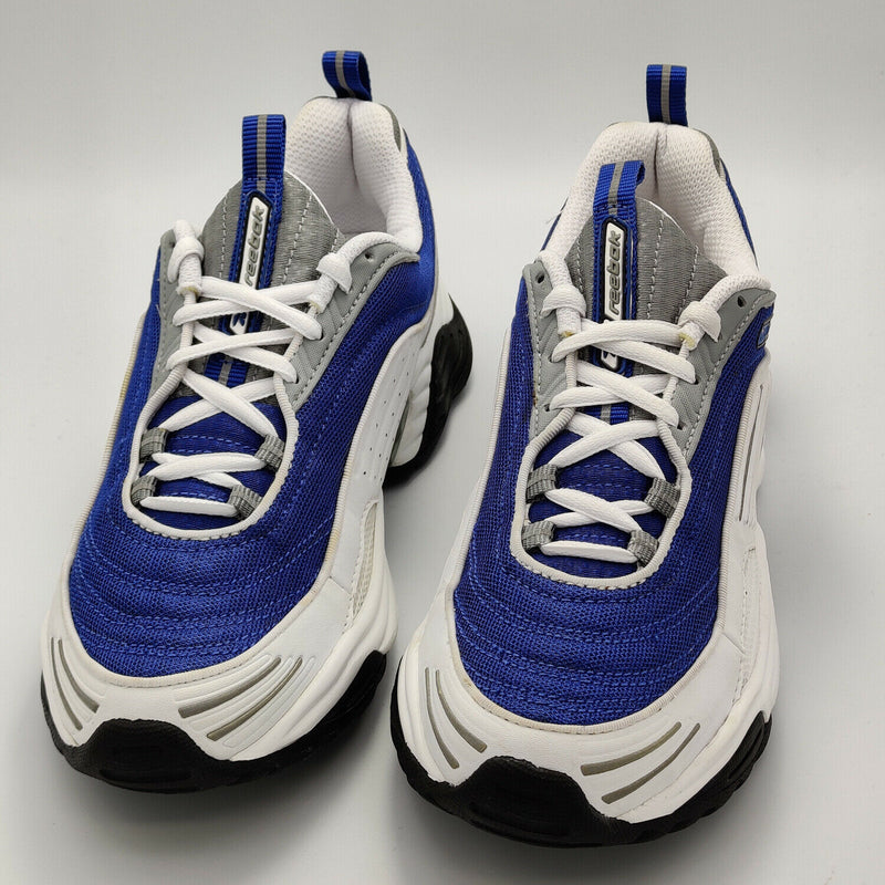 Reebok Womens Mistral DMX II Retro Trainers - Blue - UK 4.5