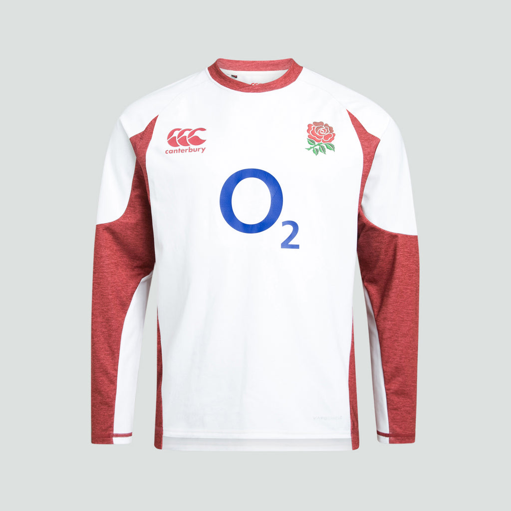 England Rugby Mens Vaposhield Tech Drill Long Sleeve Top