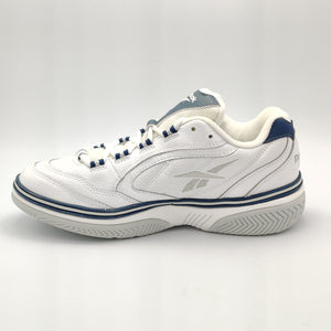 Reebok Womens Smash Court III Cushioned Tennis Shoes - White - UK 4.5