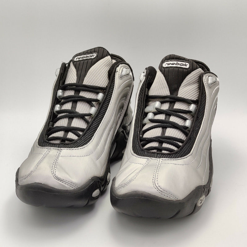 Reebok Womens Instructor II DMX 10 Retro Trainers - Grey - UK 4.5