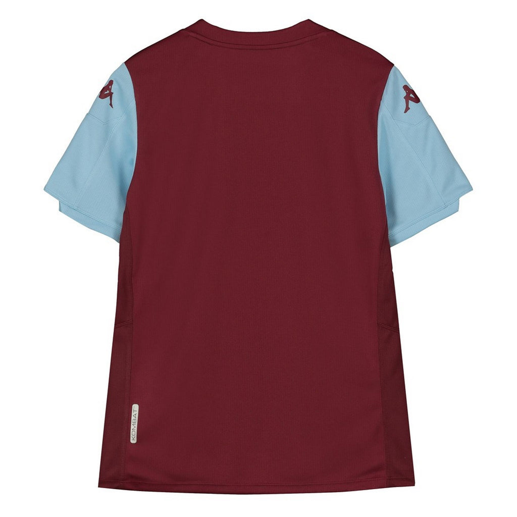 Aston Villa Junior Short Sleeve Replica Home Shirt 2019/20