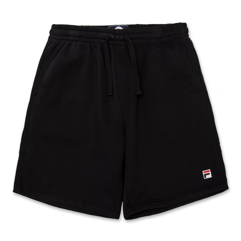 FILA Mens Vico Fleece Shorts - Black