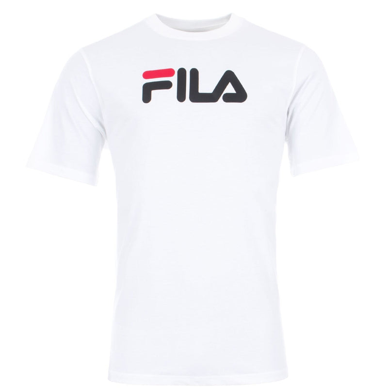 FILA Mens Eagle Logo Short Sleeve T-Shirt - White