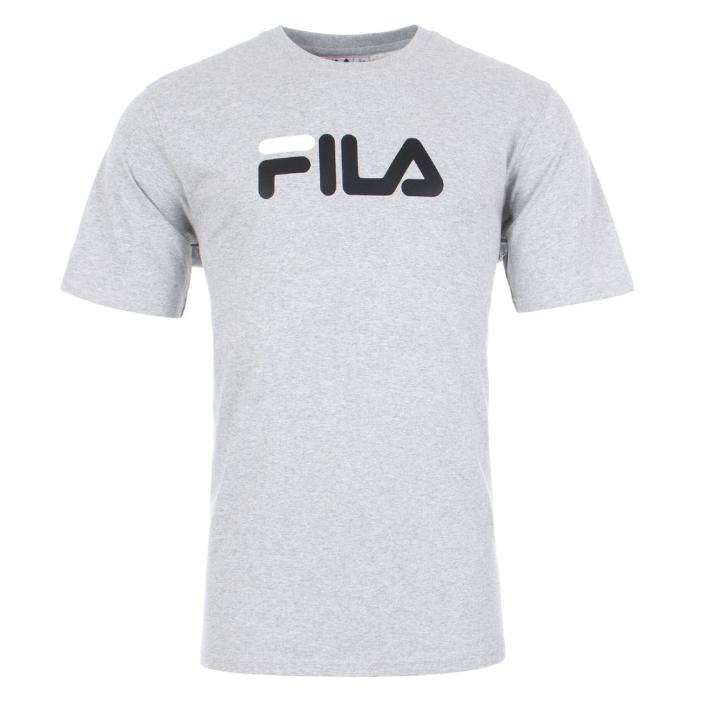 FILA Mens Eagle Logo Short Sleeve T-Shirt - Grey