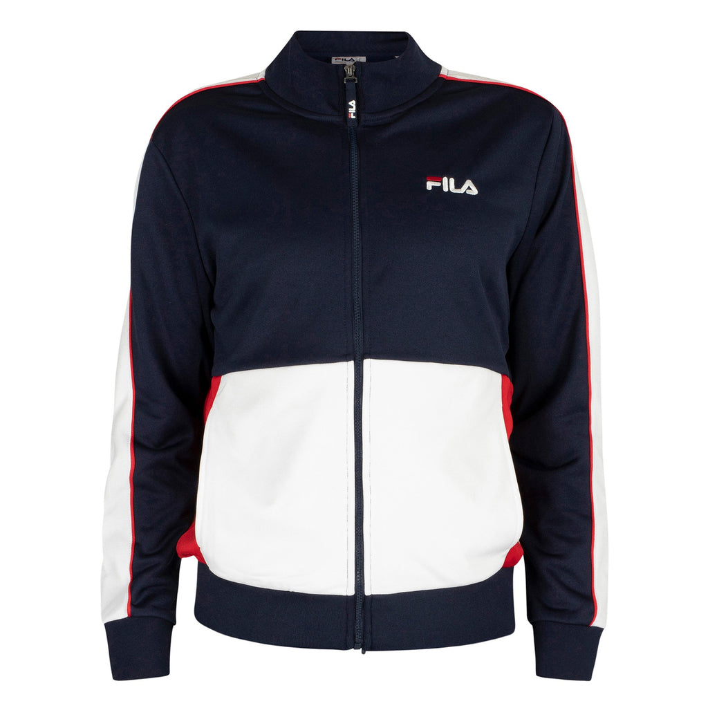 FILA Mens Michele Double Face Tracksuit Jacket - Peacoat