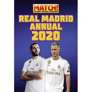 Official Real Madrid 2020 Hard Cover Annual